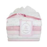 Piccolo Bambino 100% Cotton Flannel Receiving Blankets 5ea