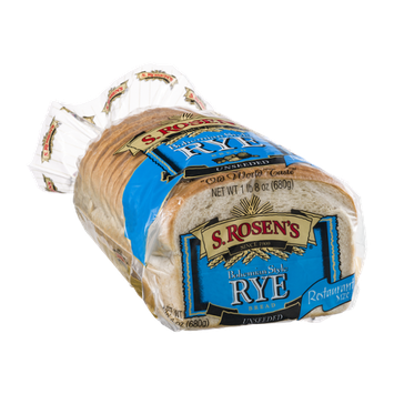 S. Rosen's Bread Bohemian Style Rye Unseeded
