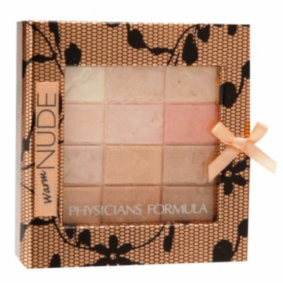 Physicians Formula Shimmer Strips All-in-1 Custom Nude Palette for Face & Eyes, Warm, .26 oz