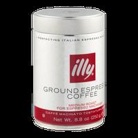 illy Ground Espresso Coffee Medium Roast
