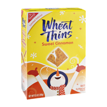 Nabisco Wheat Thins Sweet Cinnamon Crackers