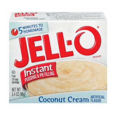 Jell-O : Instant Coconut Cream Pudding & Pie Filling