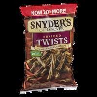 Synder's Of Hanover Braided Twists Pumpernickel & Onion