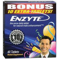 Enzyte Natural Male Enhancement Herbal Supplement Tablets BONUS 40ct box