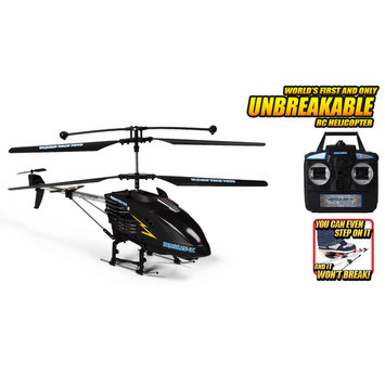 World Tech Toys 35992 Hercules X Black Series Unbreakable 3.5CH RC Helicopter