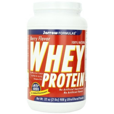 Jarrow Formulas Whey Protein, Berry, 2 Pounds