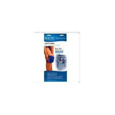 Battle Creek Equipment 522 2- 6 inch X 12 inch Packs Ice It E-Pack Double