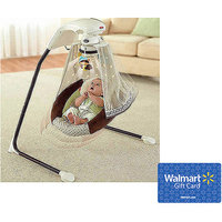 Fisher Price Fisher-Price - Starlight Papasan Cradle Swing, with Bonus $25 Gift Card