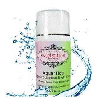 Sweetsation Therapy Aqua*Tica Organic Botanical Night Cream, 2oz