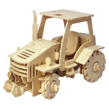 Regal Puzzled Tractor - 3D
