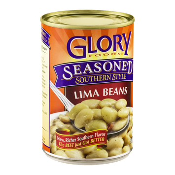 Glory Foods Seasoned Southern Style Lima Beans