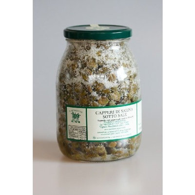 Il Mongetto Salinas Salted Capers 8 oz.