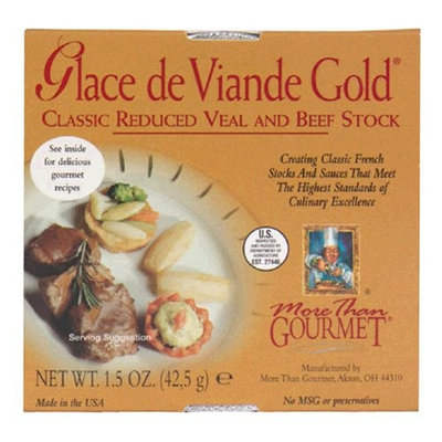 More Than Gourmet Glace de Viande Gold Reduced Brown Stock, 1.5 Ounce Packages (Pack of 6)