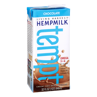 Living Harvest Tempt Hempmilk Chocolate Non-Dairy Beverage