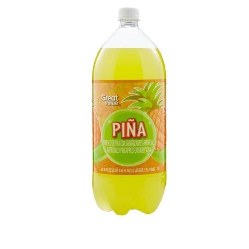 Pinata Pina Pineapple Flavored Soda, 67.6 fl oz