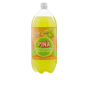 Pinata Pina Pineapple Flavored Soda, 67.6 fl oz