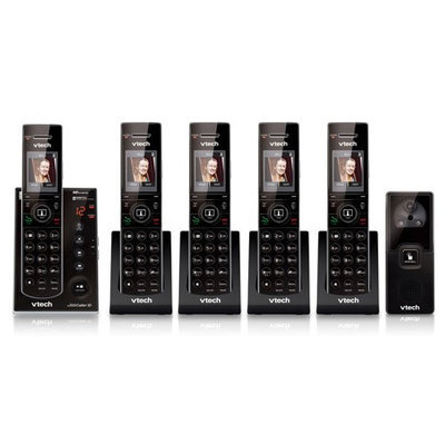 VTech IS7121-2 + (3) IS7101 5 Handset Cordless Video Phone