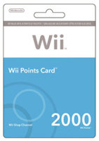 Nintendo Points Wii $19.99