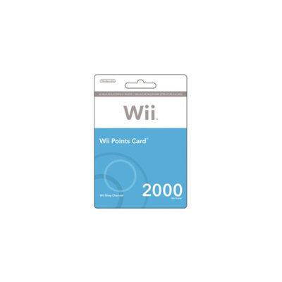 Nintendo Points Wii $19.99