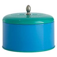 Illume Essential Color Block Tin Candle, Blue Coral, 11.9 oz