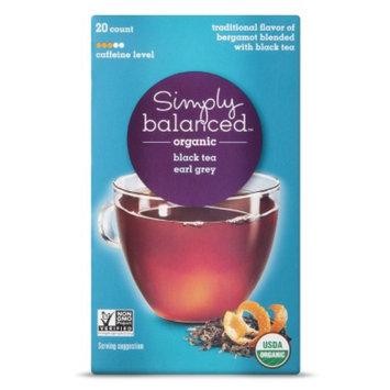 Simply Balanced Organic Earl Grey Black Tea 20 ct