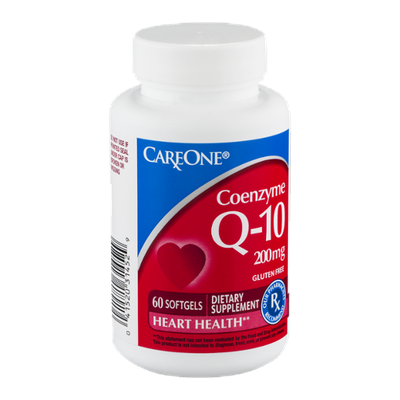 CareOne Coenzyme Q-10 Softgels - 60 CT