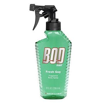 BOD Man Fragrance Body Spray, Fresh Guy, 8 Fluid Ounce