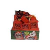 Santa's Coal Fruit Bubble Gum (12 Packages Included)