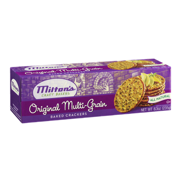 Milton's Craft Bakers Baked Crackers Original Multi-Grain