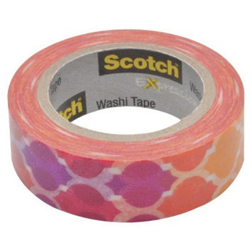 Scotch Washi Tape Red 10mX15mm
