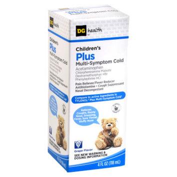 DG Health Children's Plus Multi-Symptom Cold Medicine