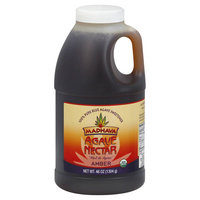 Madhava Agave Nectar, Amber - 46 oz jug
