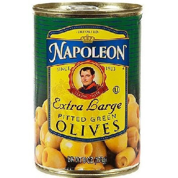 Napolean Fireplaces Napoleon Co. Green Pitted Olives (12x6OZ )
