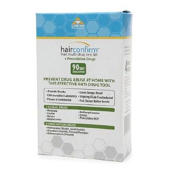 Hair Confirm Hair Follicle Multi-Drug Test Kit + Prescription Drugs