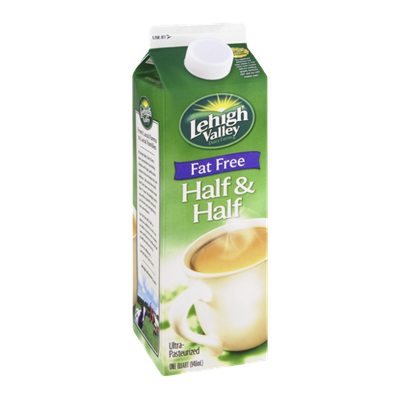Lehigh Valley Dairy Farms Fat Free Half & Half