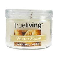 trueliving TrueLiving Small Round Jar Candle - Vanilla Sugar