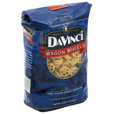 Davinci Wagon Wheels Pasta, 16 oz (Pack of 12)