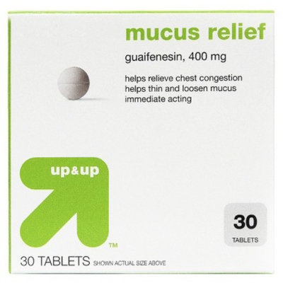 up & up up&up Mucus Relief Chest Congestion Tablet - 30 Count