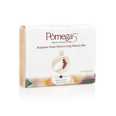 Pomega5 Bulgarian Rose Moisturizing Beauty Bar