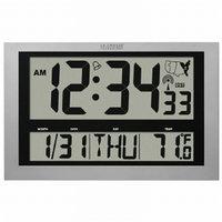 La Crosse Technology Atomic Digital Wall Clock with IN Temp