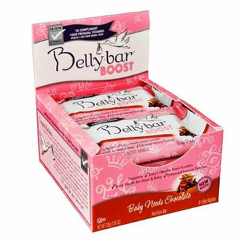 Bellybar Baby Needs Chocolate Case of 8 1.59 oz
