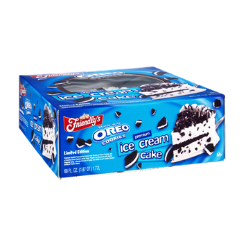 Friendly's Oreo Cookies Premium Ice Cream Cake