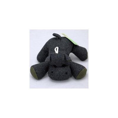 Booda PETMATE 291793 Eco Plush Hippo Toy for Pets, Large