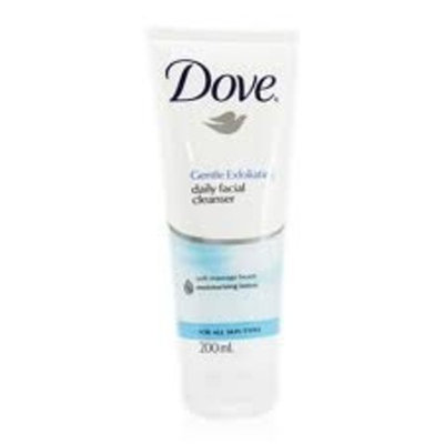 Dove Gentle Exfoliating Daily Facial Cleanser 200 Ml 6.76 Oz
