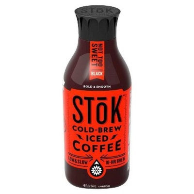 Stok Cold Brew Iced Coffee Not Too Sweet Black