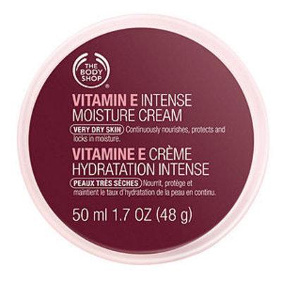 The Body Shop TBS Moisturiser Intense Vitamin E 50 ML, 1.69 fl oz