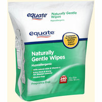 Equate Naturally Gentle Wipes