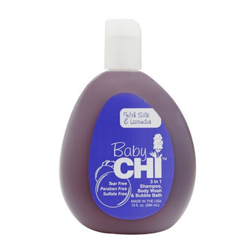 CHI Baby 3-in-1 Shampoo, Body Wash, and Bubble Bath, 13 fl oz