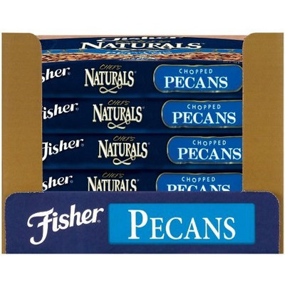 Fisher Pecan Pieces, Raw, Fancy, Midget, 30-Pound Package
