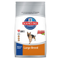 Hill's Science Diet Hill'sA Science DietA Large Breed Mature Adult Dog Food